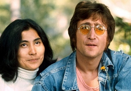 John Lennon and Уoko Ono